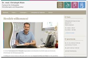 Orthopaedische Praxis Dr. Klein