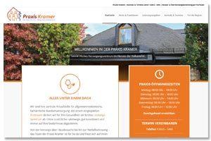 Website Praxis Kramer Kaisersesch